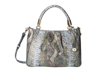 Brahmin Ruby Moonstone Satchel Handbags Blue