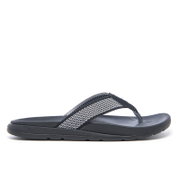 Ugg Men's Tenoch Hyperweave Treadlite Toe Post Sandals Black