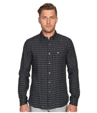 Todd Snyder Check Cotton Button Down Charcoal Men's Clothing Gray