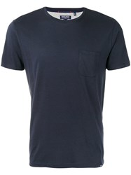 Woolrich Plain T Shirt Blue