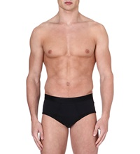 Sunspel Superfine Briefs Black