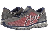 Asics Gel Quantum 360 Cm Carbon White Silver Men's Running Shoes Black