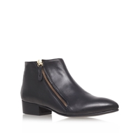 Sally Low Heel Ankle Boots Black