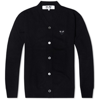 Comme Des Garcons Play Cardigan Black And Black