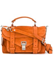 Proenza Schouler Tiny Ps1 Satchel Yellow Orange