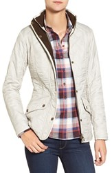 Barbour Women's 'Cavalry' Quilted Jacket Pearl Rustic