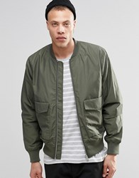 Weekday Boo Er Jacket Khaki Green 19 109