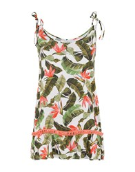 Banana Moon Tank Tops Military Green