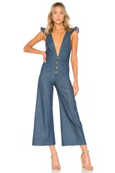Clayton Saul Jumpsuit Marina Denim