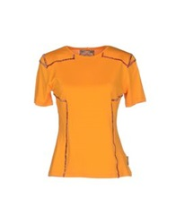 Gattinoni T Shirts Orange