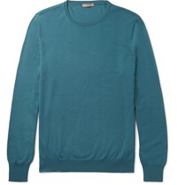 Bottega Veneta Merino Wool Sweater Teal