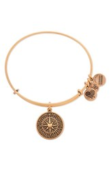 Alex And Ani Women's 'True Direction' Adjustable Wire Bangle