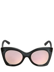 Le Specs Butterfly Acetate Sunglasses