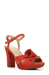 Naturalizer Women's Adelle Sandal Red Leather