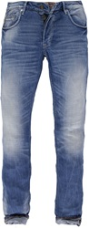 Garcia Man Tapered Leg Jeans Blue