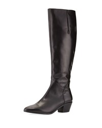 Hughla Pointy Toe Casual Boot Nero Vc Signature