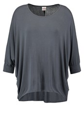 Deha Long Sleeved Top Dark Grey