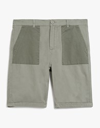 Native Youth Bamburgh Short Olive