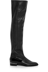 Reed Krakoff Oxford Leather Over The Knee Boots