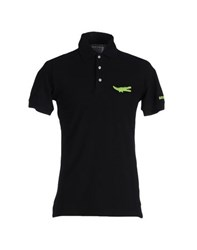 Bronzaji Topwear Polo Shirts Men Black