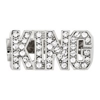 Dolce And Gabbana Silver 'King' Ring