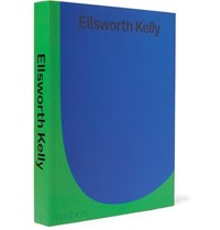 Phaidon Ellsworth Kelly Hardcover Book Blue
