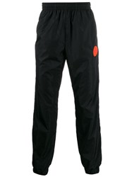 Off White Logo Patch Track Pants Black