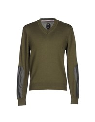 Ganesh Sweaters Military Green