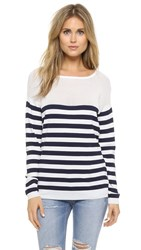 La Fee Verte Stripes Sweater Marine