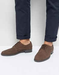 Frank Wright Lace Up In Brown Waxed Brown