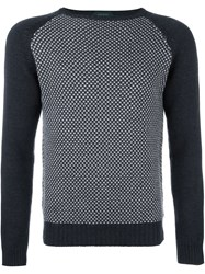 Zanone Crew Neck Sweater Grey