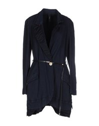 High Coats And Jackets Full Length Jackets Women Dark Blue