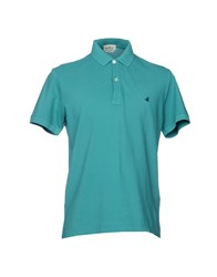 Brooksfield Polo Shirts Green