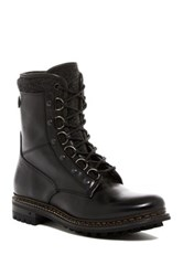 George Brown Wright Tall Lace Up Boot Black