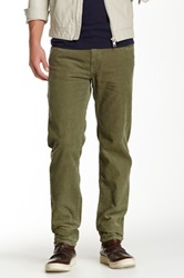 Barbour Essential Skinny Cord Green