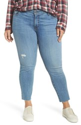 Kut From The Kloth Plus Size Reese Raw Hem Ankle Straight Leg Jeans Equilibrium