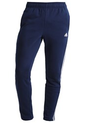 Adidas Performance Tracksuit Bottoms Conavy White Dark Blue