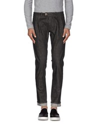 Paolo Pecora Denim Denim Trousers Men Black