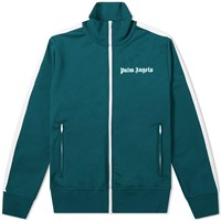 Palm Angels Classic Zip Track Jacket Green