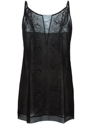 La Perla 'Merveille' Night Shirt Black