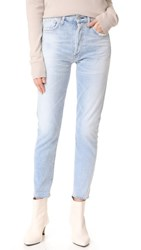 Citizens Of Humanity Liya High Rise Classic Fit Crop Jeans Rock On