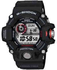 G Shock Men's Digital Rangeman Black Resin Strap Watch 54X55mm Gw9400 1