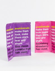 Anatomicals Tear And Share Hair Mask Pack No Colour