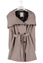 S.Oliver Short Coat Brown Melange
