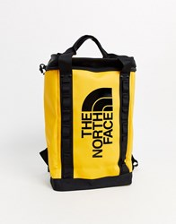 The North Face Explore Fusebox S Backpack In Yellow