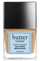 Butter London 'Sheer Wisdom' Nail Tinted Moisturizer Neutral