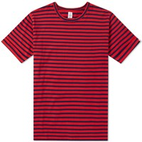 Head Porter Plus Border Tee Red