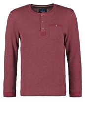 Tom Tailor Long Sleeved Top Preppy Plum Purple