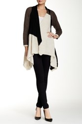 Luma Ribbed Knit Cardigan Multi