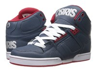 Osiris Nyc83 Blue Red Silver Men's Skate Shoes Multi